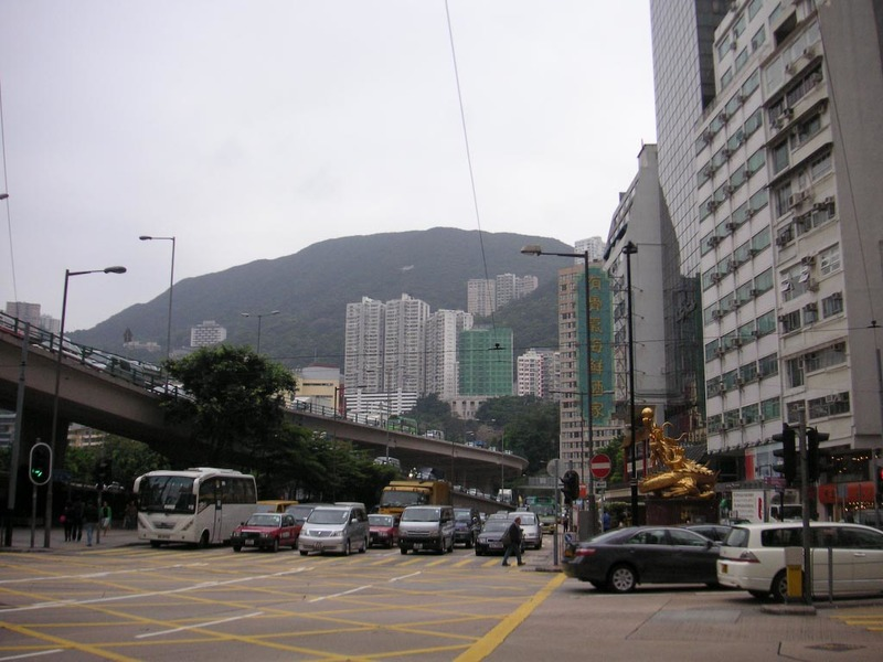 Hong Kong-Airport-Causeway Bay-Mall - Mountains - the jaggedness of these was surprising, you see a lot of them from the airport train, im excited to go climb some of them as I could see c