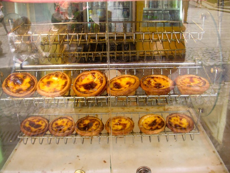 Macau-Casino-Ferry-Custard Tart - Egg tarts....I dont really like them but when in Rome....