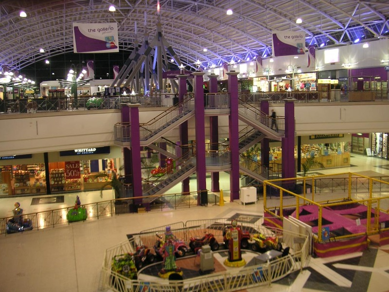 England-Hatfield-Galleria - The world famous galleria, its purple (theres a purple theme in hatfield).