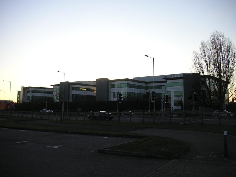 England-Hatfield-Cold - Apperntly this is the global headquarters of  T-Mobile, one of the worlds biggest cell phone networks. I dont even know that they are a big player in