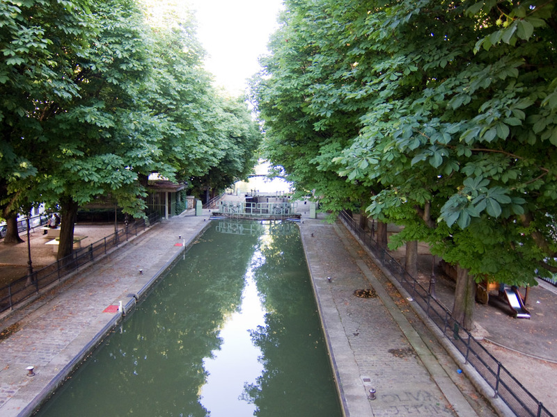 France-Paris-Little India - There is a canal system running through central paris, complete with locks to allow barges through.