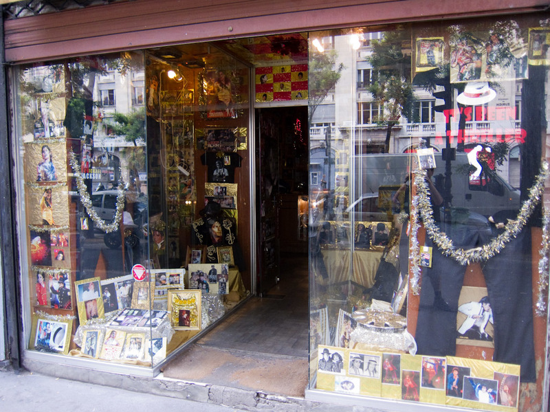 France-Paris-Shopping-Market - This is the Michael Jackson store.
