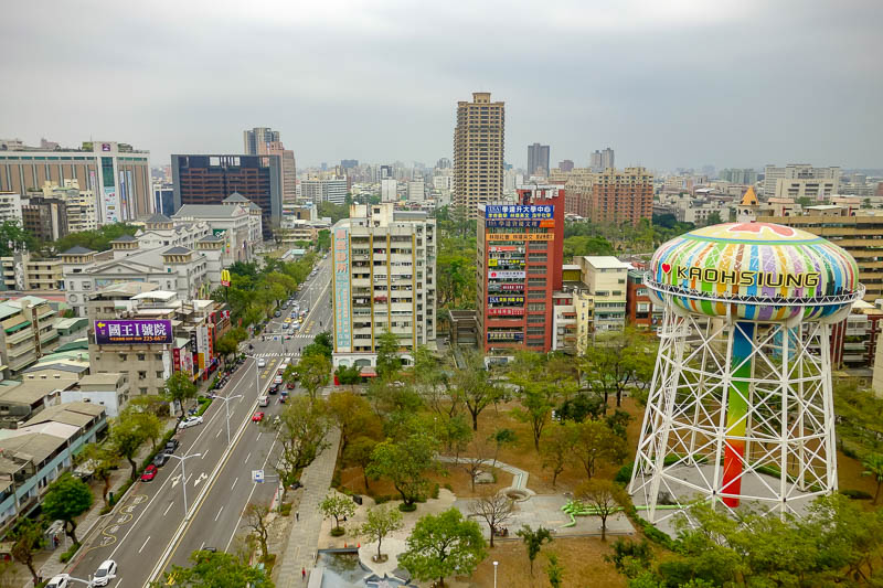 news - Kaohsiung is a city I enjoyed on a previous visit, and I enjoyed it again this time. I stayed in the same hotel and had the same view, here it is.