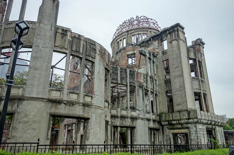news - I visited all the a-bomb historical monuments on a very rainy day and got saturated. Yet not as saturated as I would get the next day. I was actually