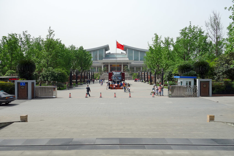 China-Chengdu-Sichuan Museum-Culture Park - New old ancient streets