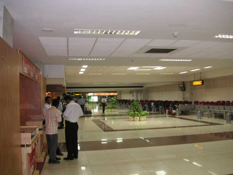 India-Chennai-Airport - Departing Chennai airport