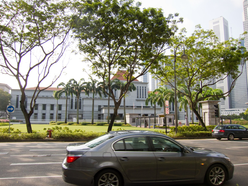 Singapore-Orchard Road-Geylang Road - This is the parliament, quite small and concrete. Yes I was struggling to find things to take photos of.