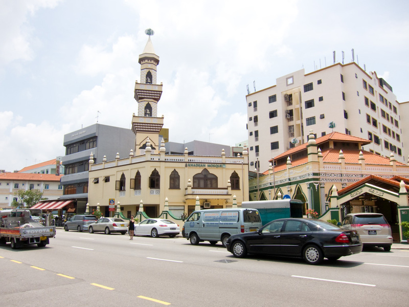 Singapore-Orchard Road-Geylang Road - A mosque.