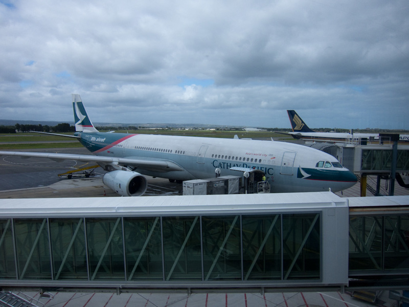 Adelaide-Airport-Cathay Pacific-Airbus A330 - Adelaide to Melbourne