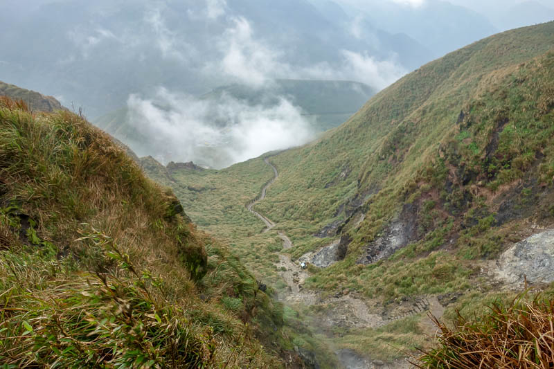 Taiwan-Taipei-Hiking-Yangmingshan - Coat day