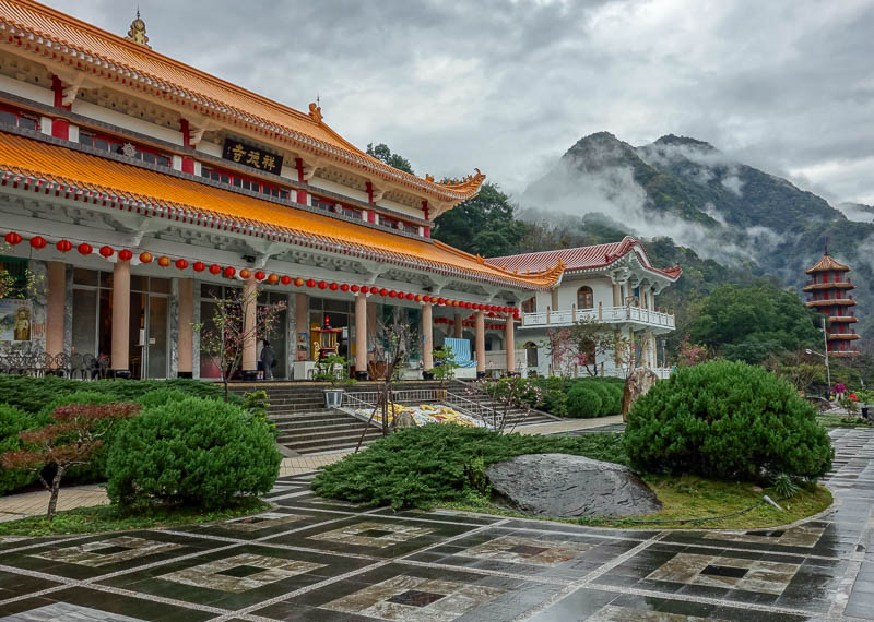 Taiwan-Hualien-Taroko Gorge - And of course, the temple. Which is new. I suspect the old one was destroyed in the earthquake.