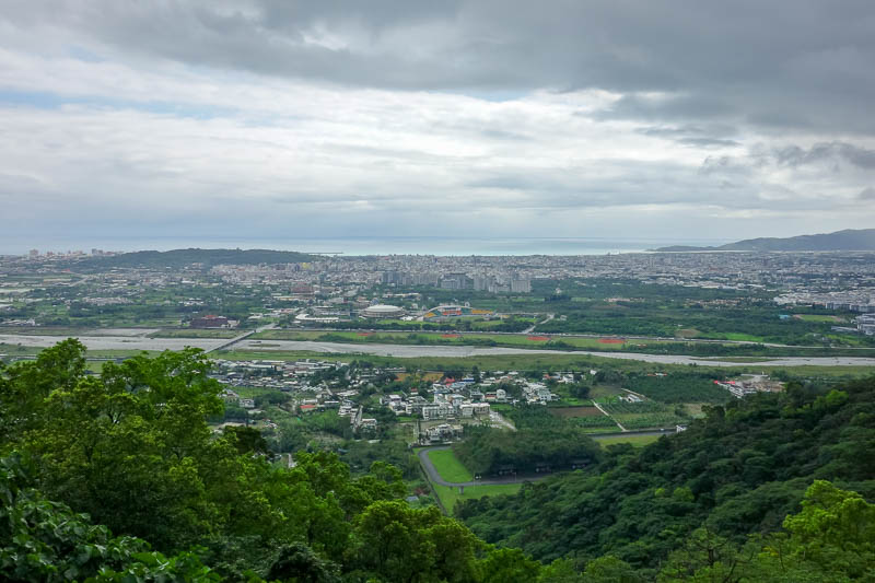 Taiwan-Hualien-Hiking-Rain-Zuocang - Some view from the lowest viewing place.