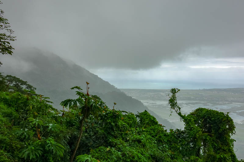 Taiwan-Hualien-Hiking-Rain-Zuocang - Cloudview