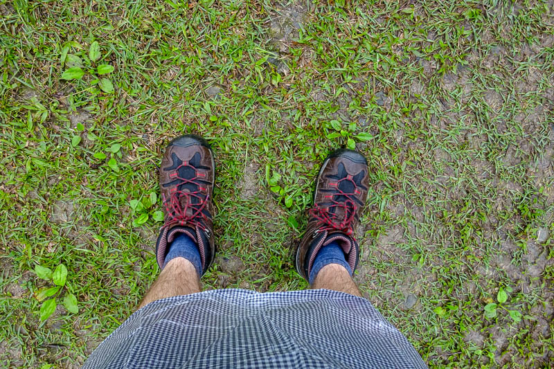 Taiwan-Hualien-Hiking-Rain-Zuocang - I am very happy with my new boots. Feet have remained dry at all times. Good boots are the most important thing. I did read a translated web page abou