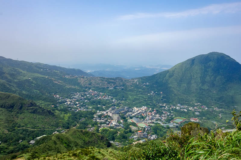 Taiwan-Jiufen-Hiking-Teapot Mountain - A bit more view. I will probably say that a few times today.