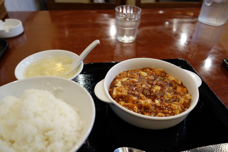 Japan-Tokyo-Ikebukuro-Mapo Tofu - I found a Chinese place for dinner and had one of my favourites, Mapo Tofu. I also have now discovered 3 times that Japanese people do not speak Chine
