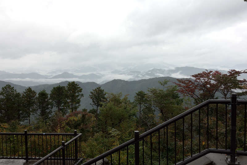 Japan-Tokyo-Hiking-Mount Takao - The view towards Mount Fuji. Much like yesterday, there will be no seeing it today.