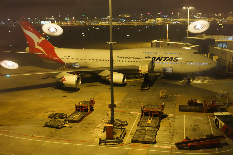 Sydney-Airport-Boeing 747-Lounge - I like airports