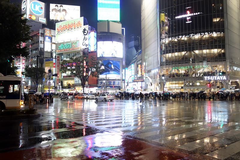 Japan-Tokyo-Shibuya-Rain-Ramen - Wedding proposal and a fight